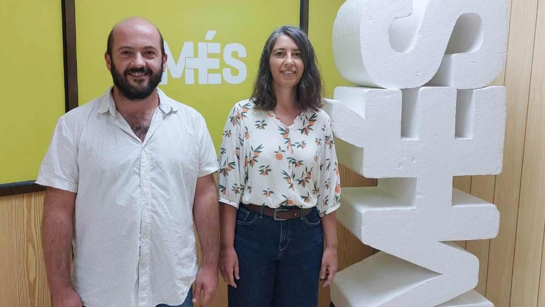 Truyol y Contreras formalizan su candidatura conjunta a las primarias de Més per Palma.