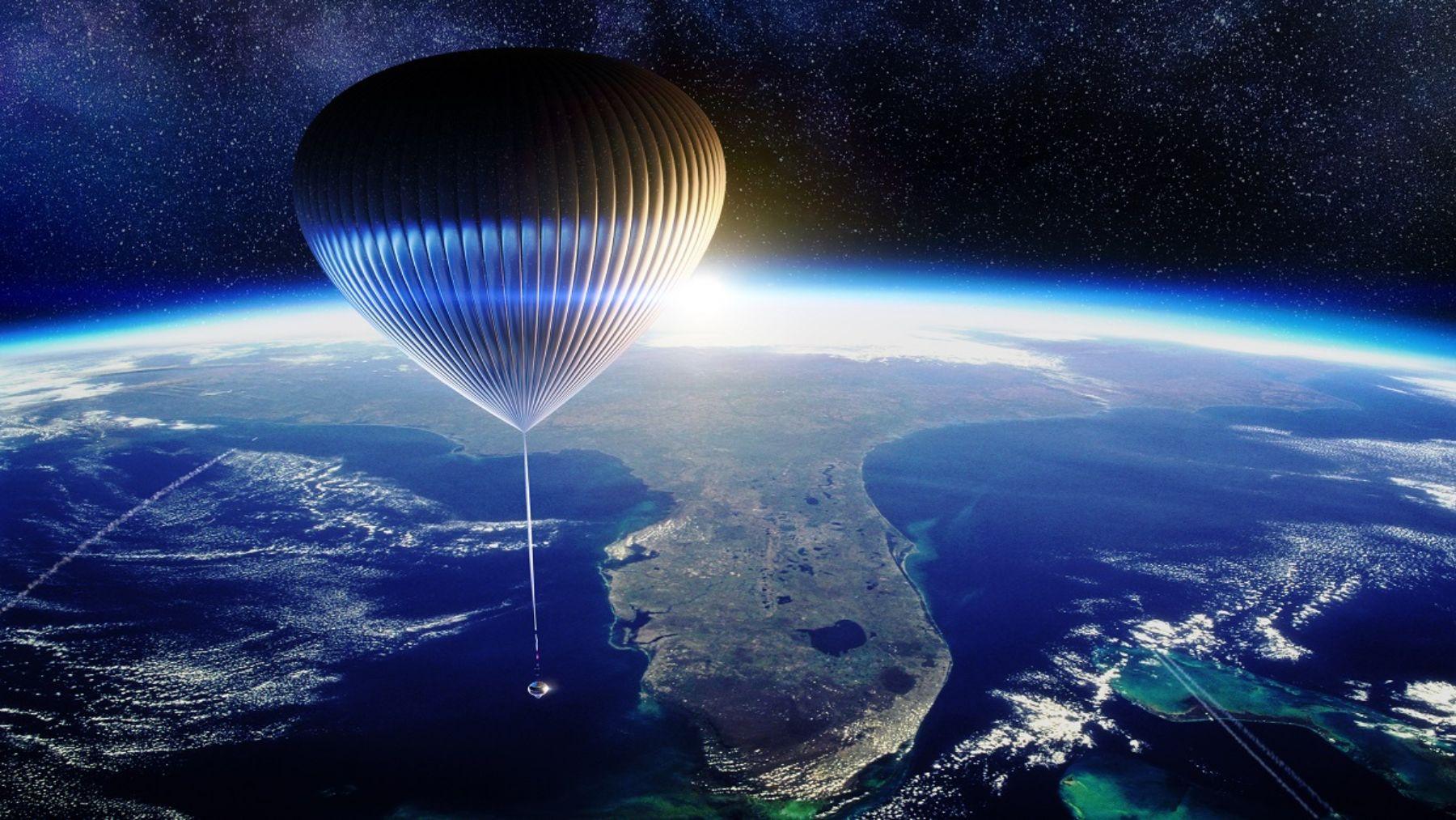 El precio de un billete para viajar al espacio en globo será estratosférico