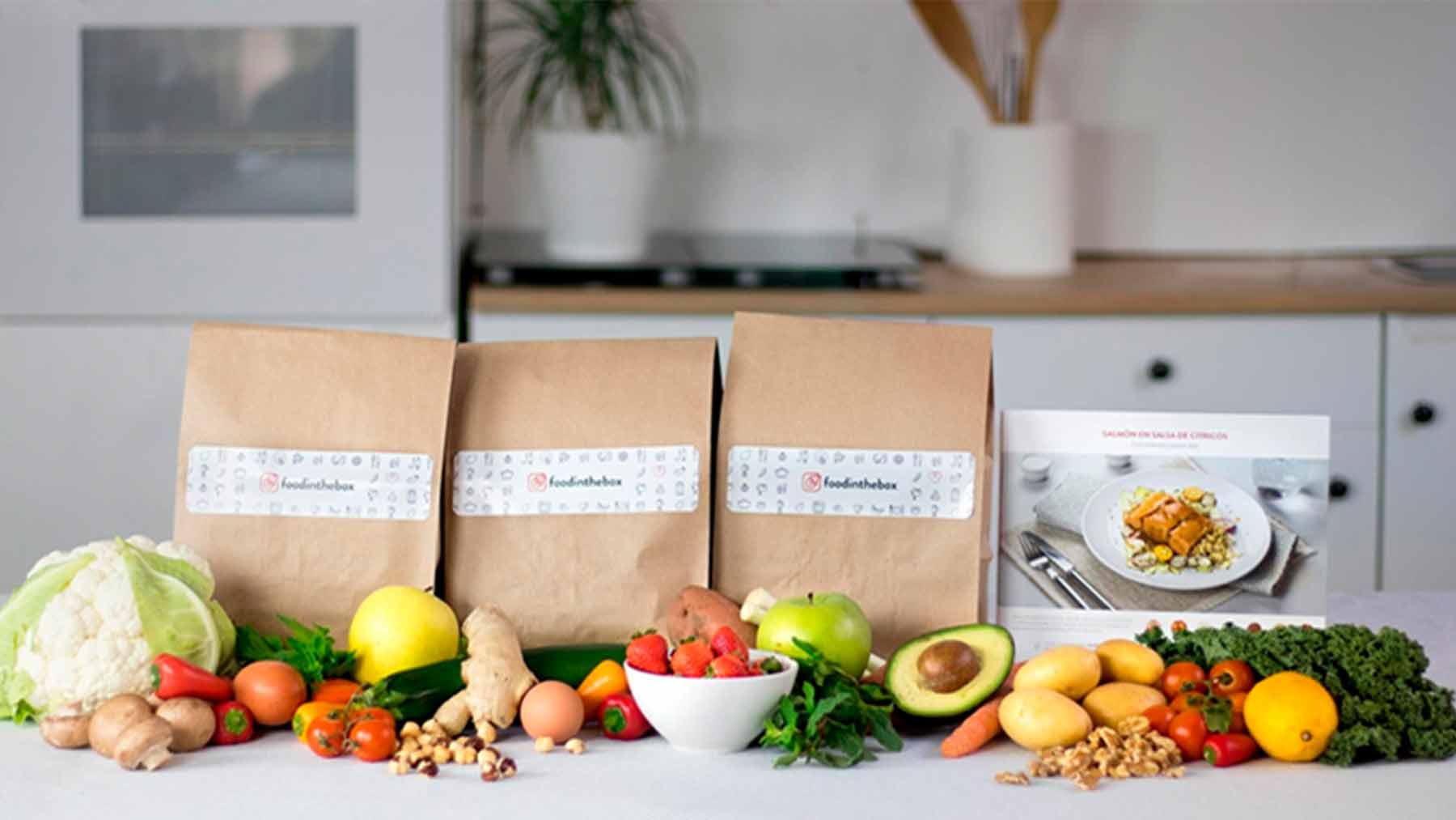 Kits de recetas con sus ingredientes a domicilio