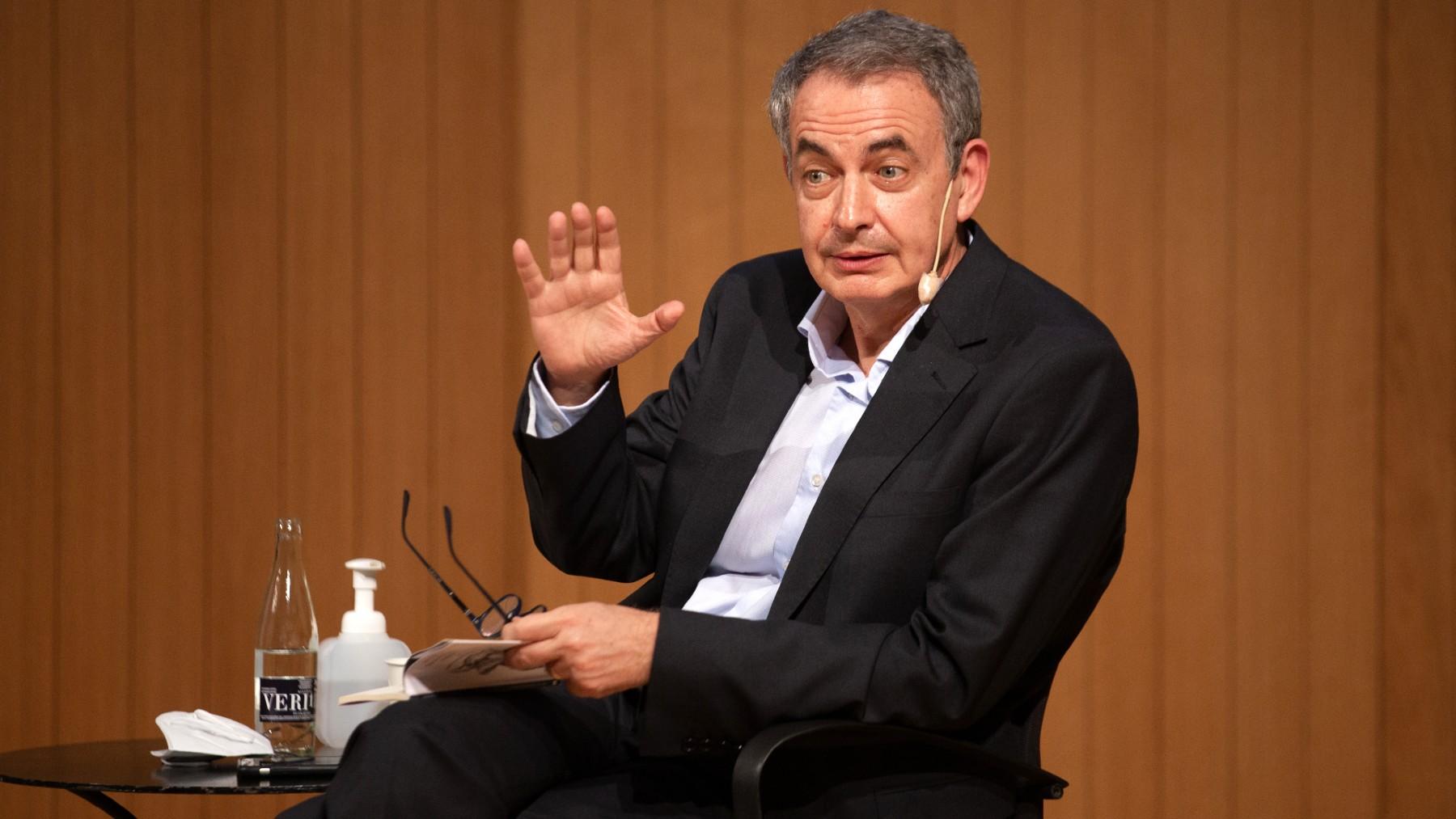 El ex presidente del Gobierno, José Luis Rodríguez Zapatero. (Foto: Europa Press)