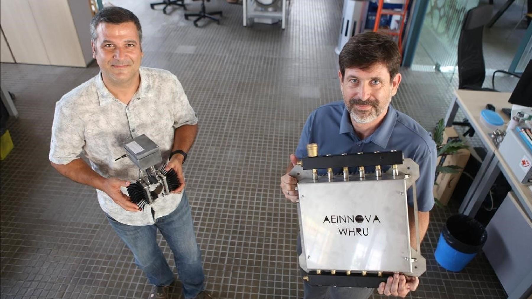 Raúl Aragonés, cofundador de AEInnova, y David Comellas, CEO.