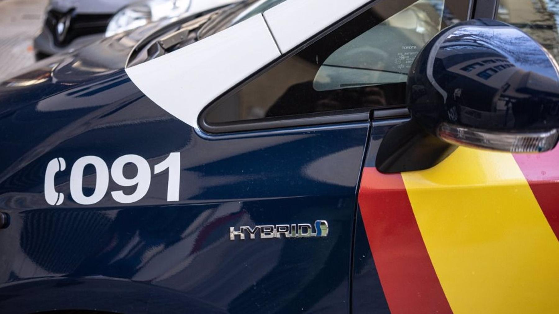 Vehículo patrulla de la Policía Nacional (PN).