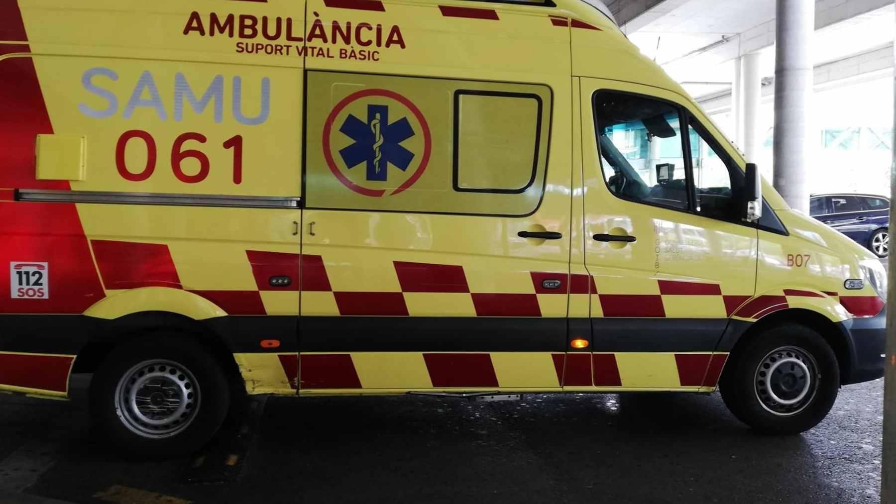 Una ambulancia de soporte vital básico del SAMU 061 de Baleares. Foto: Europa Press