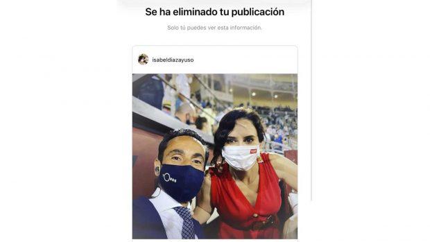 Isabel Diaz Ayuso Instagram