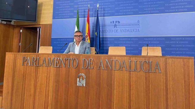Manuel Gavira, portavoz de Vox en el Parlamento de Andalucía.