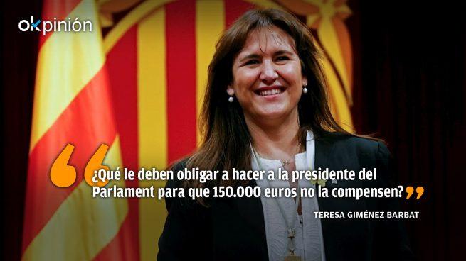 Los independentistas, el 'síndrome de Munchausen' y Cataluña
