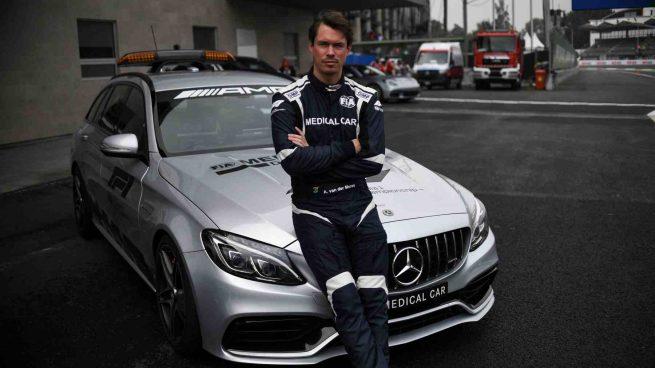 piloto coche médico fórmula 1