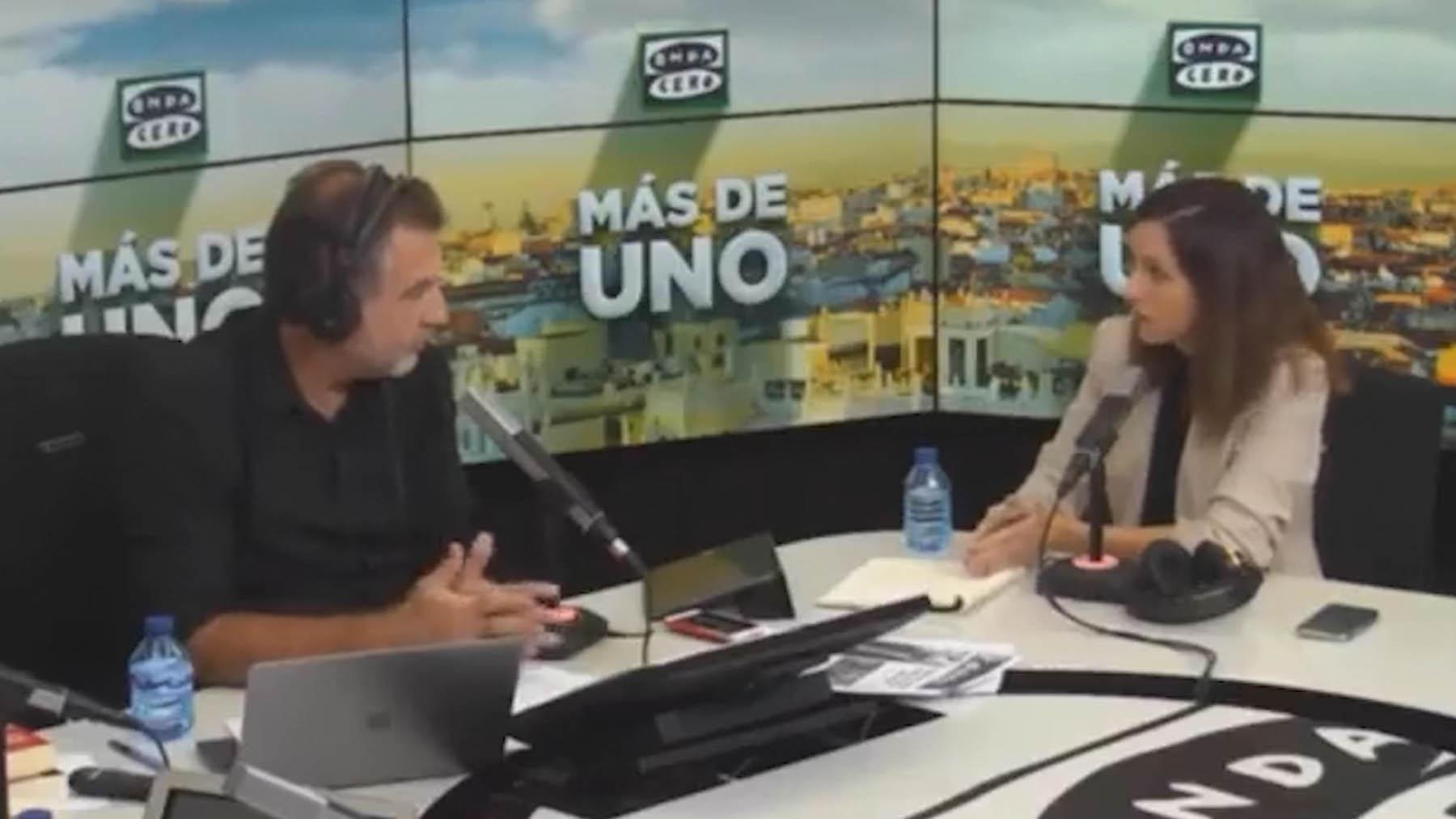 La ministra Ione Belarra en 'Onda Cero'.