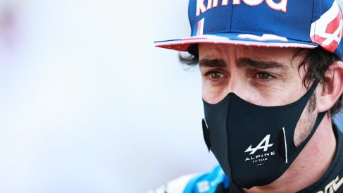 Fernando Alonso, piloto de Alpine. (Getty)