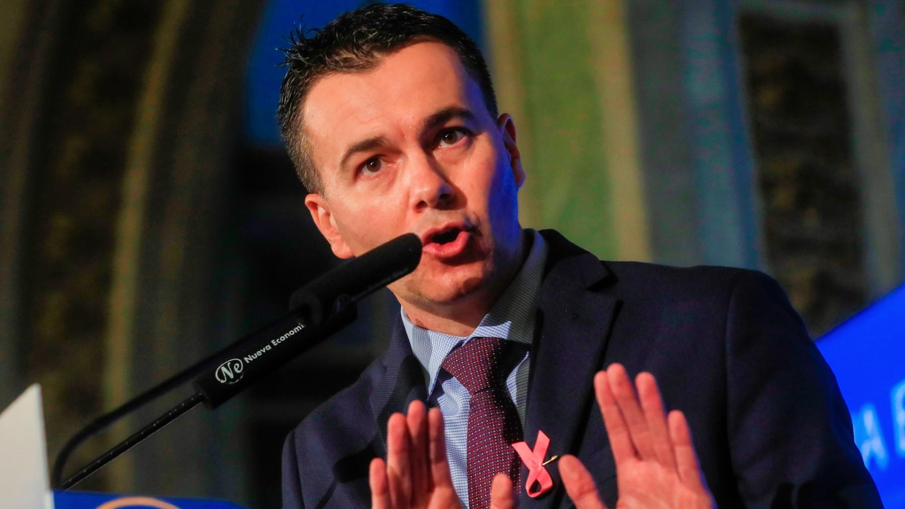 El portavoz del PSOE en el Congreso, Héctor Gómez. (Foto: Efe)