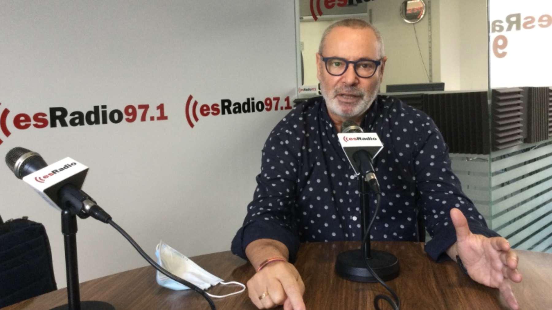Alfonso Rodríguez, presidente de Consubal, en el estudio de esRadio97.1.