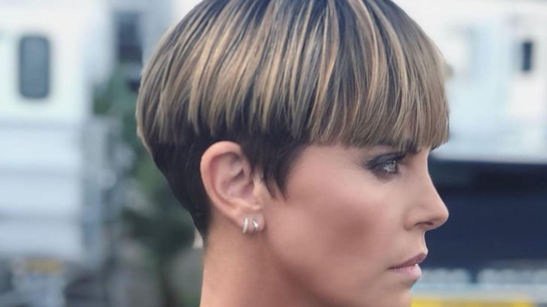 El corte de pelo que ha vuelto a poner de moda Charlize Theron /Foto: Instagram