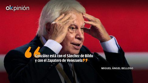 González, Zapatero y la indecencia
