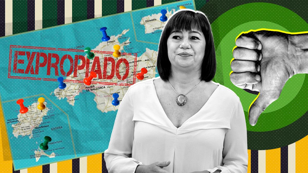 Francina Armengol, presidenta del Gobierno de Baleares