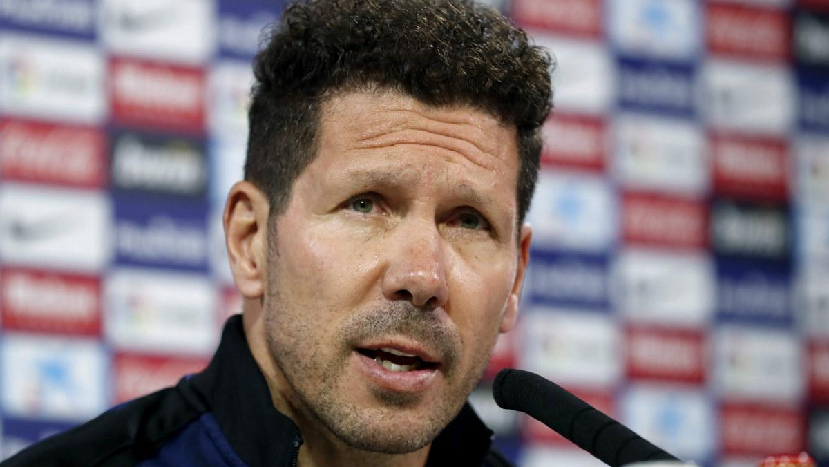 Simeone debe descartar a ocho jugadores, como mínimo, en pretemporada. (EFE)