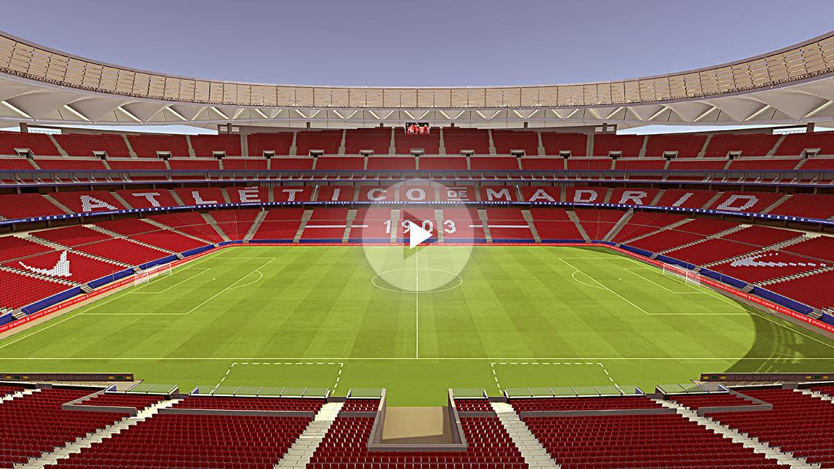 Así será el Wanda Metropolitano. (atleticodemadrid.com)