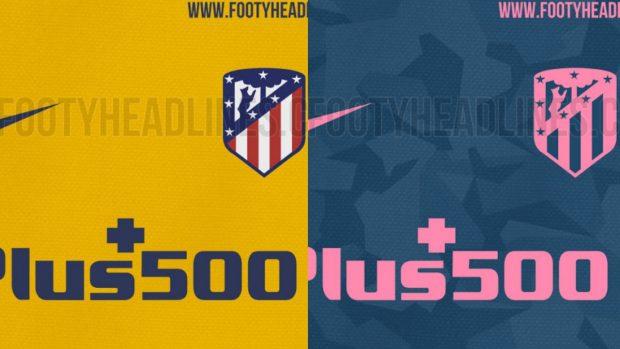 equipacion entrenamiento Atlético de Madrid nuevas
