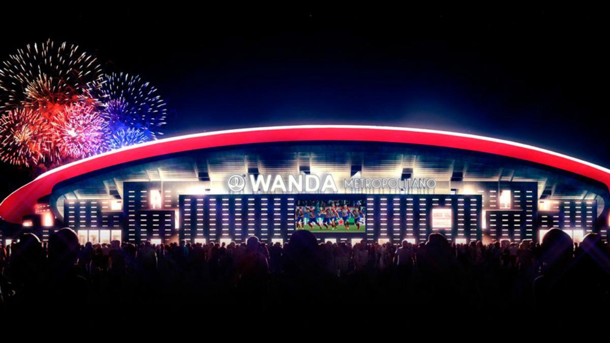 El Wanda Metropolitano quiere la final de la Champions en 2019. (atleticodemadrid.com)