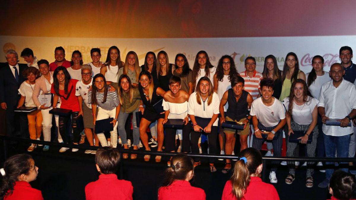 El Atlético Femenino celebra su gala anual. (atleticodemadrid.com)