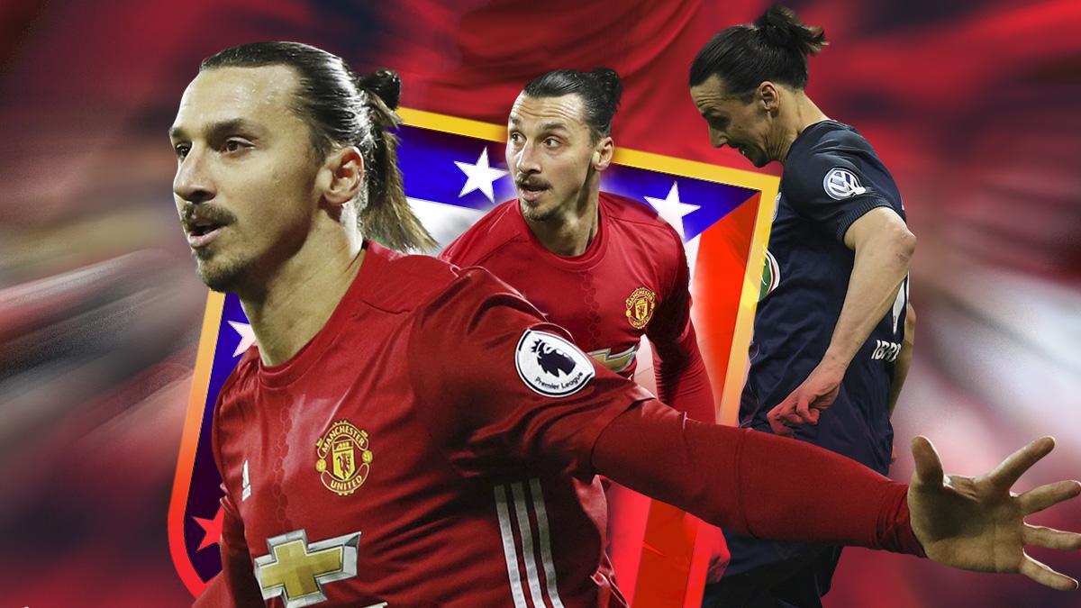 Zlatan Ibrahimovic ha dominado Europa en los últimos años como delantero centro.