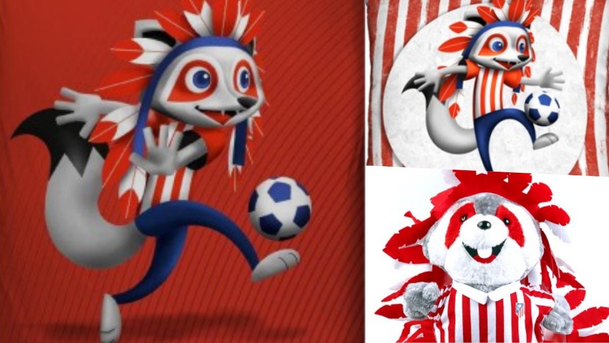 Indi, la mascota del Atlético, también cambia su imagen