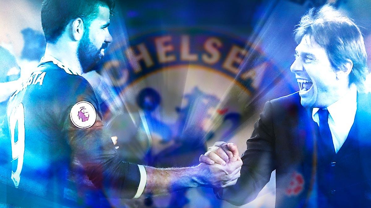 Costa y Conte: cara a cara en la pretemporada del Chelsea