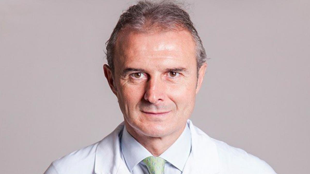 Óscar Celada, médico de la Selección española