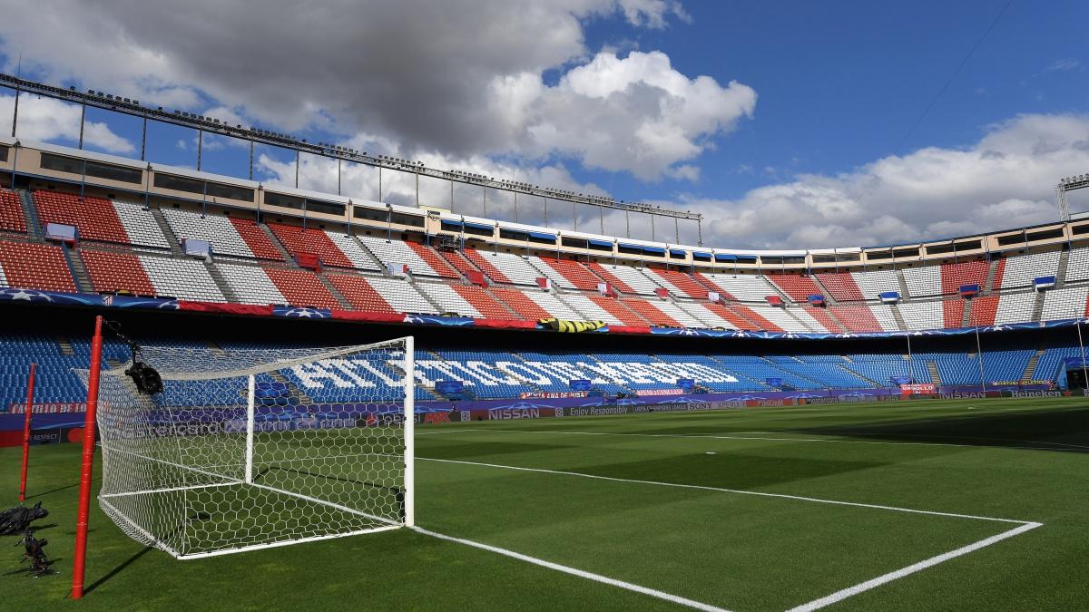 El estadio Vicente Calderón