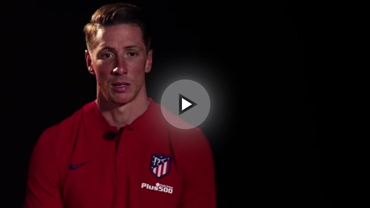 Fernando Torres habla tras su renovación.
