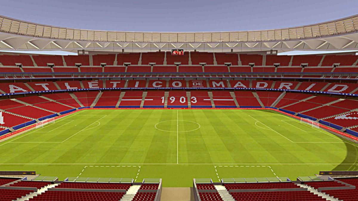 Así lucirá el Wanda Metropolitano. (atleticodemadrid.com)