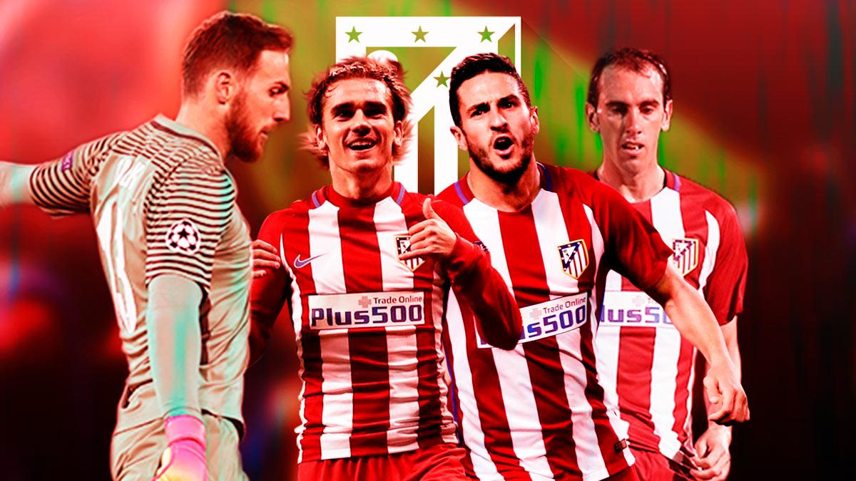 El Atlético de Madrid cuenta con futbolistas de nivel top en todas las líneas.