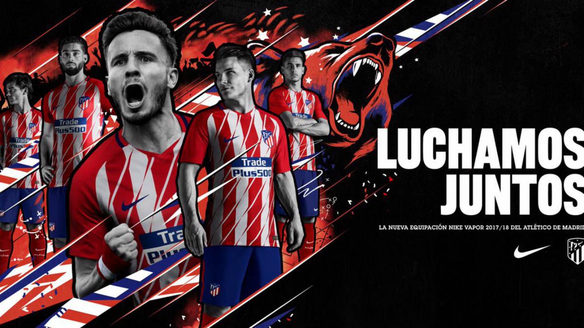 Así es la nueva camiseta del Atlético.