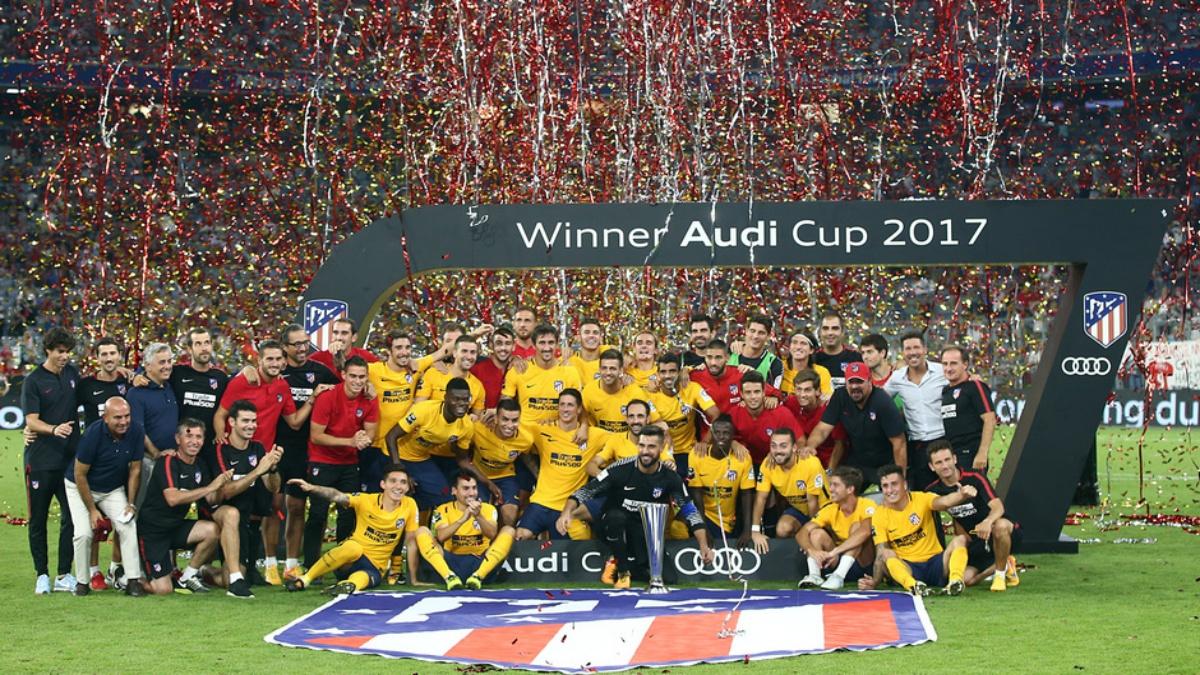 El Atlético, campeón de la Audi Cup