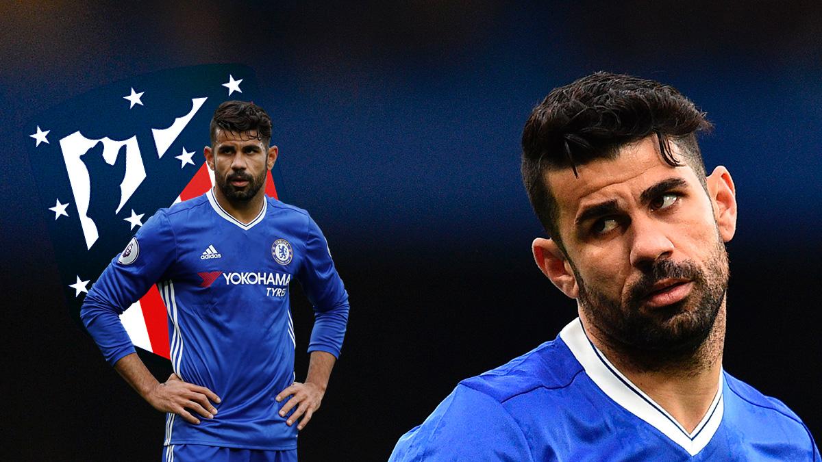 Diego Costa, pensativo, sin tener claro donde acabará esta temporada.