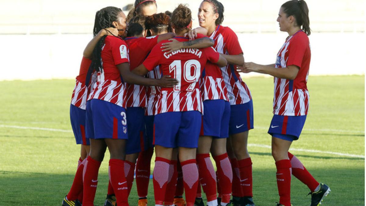 El Atlético celebra uno de los goles ante el Albacete. (atleticodemadrid.com)