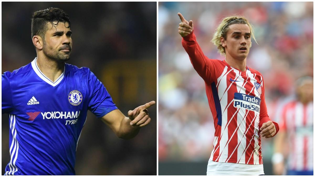 Diego Costa y Antoine Griezmann.