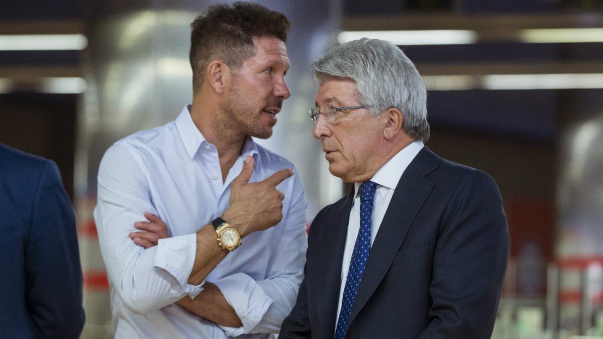 Cerezo habló sobre Diego Costa durante un acto del Atlético. (EFE)