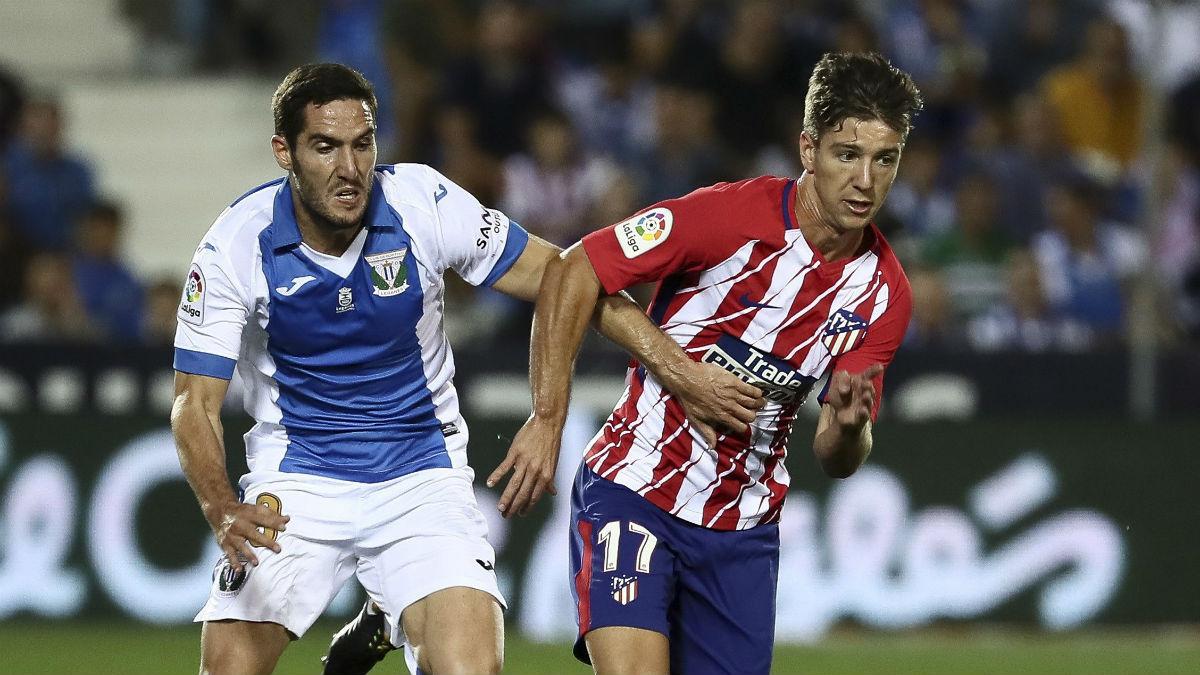 Luciano Vietto durante el partido contra el Leganés. (EFE)