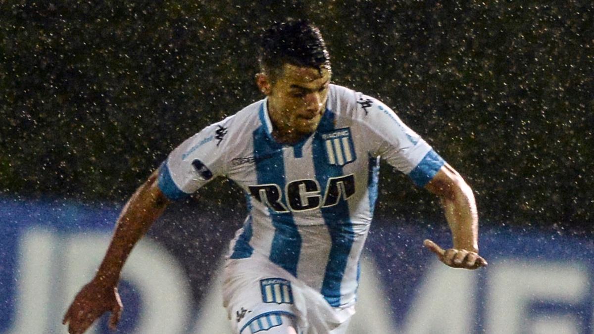Pablo Maximiliano Cuadra, futbolista de Racing de Avellaneda