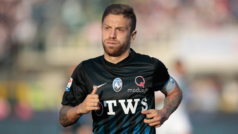 Papu Gómez, durante un encuentro con el Atalanta