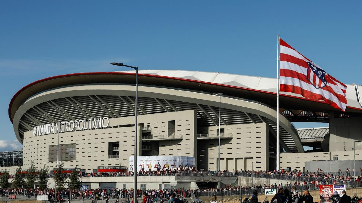 El Wanda Metropolitano en su estreno. (Getty Images)