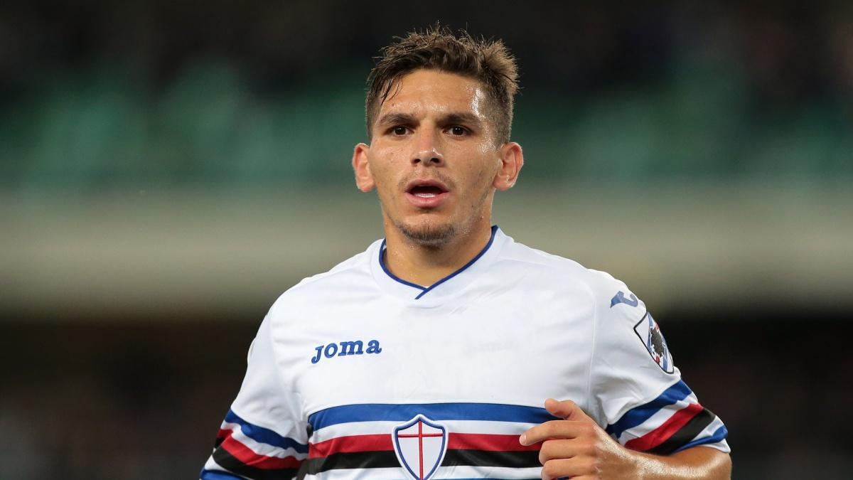 Lucas Torreira, futbolista de la Sampdoria