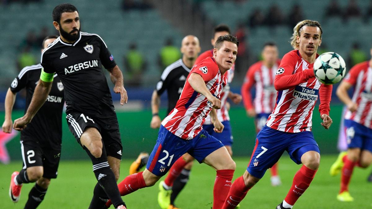 Alineación del Atlético: Gameiro repite como pareja de Griezmann