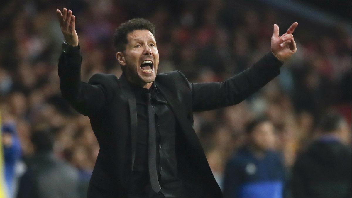 Simeone confía en su equipo. (EFE)