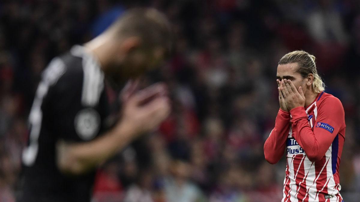 Griezmann se lamenta. (AFP)