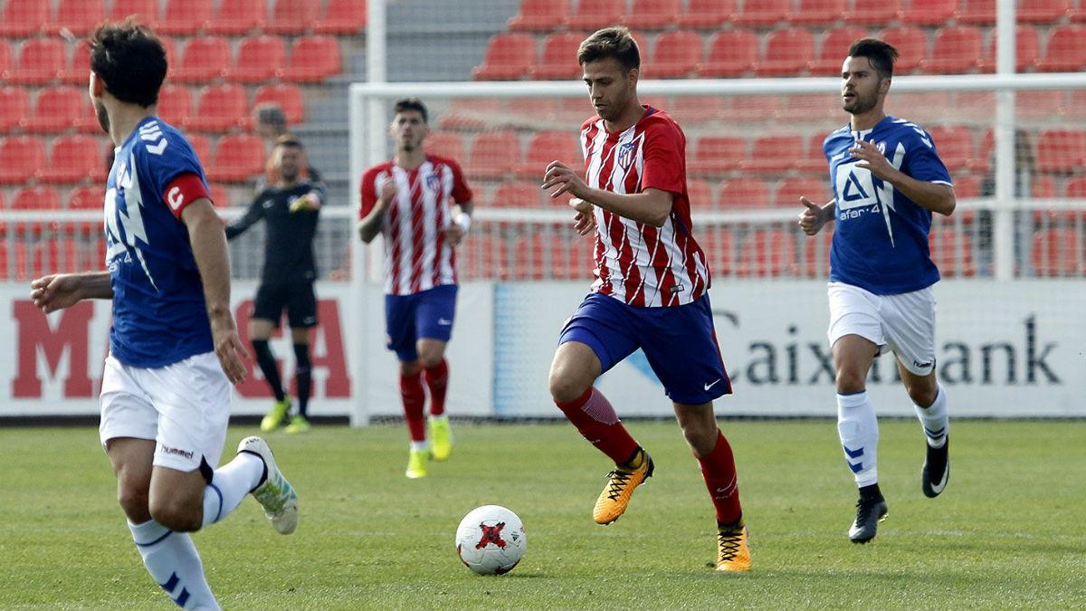 El Atlético B empató a cero contra el Rayo Majadahonda. (atleticodemadrid.com)