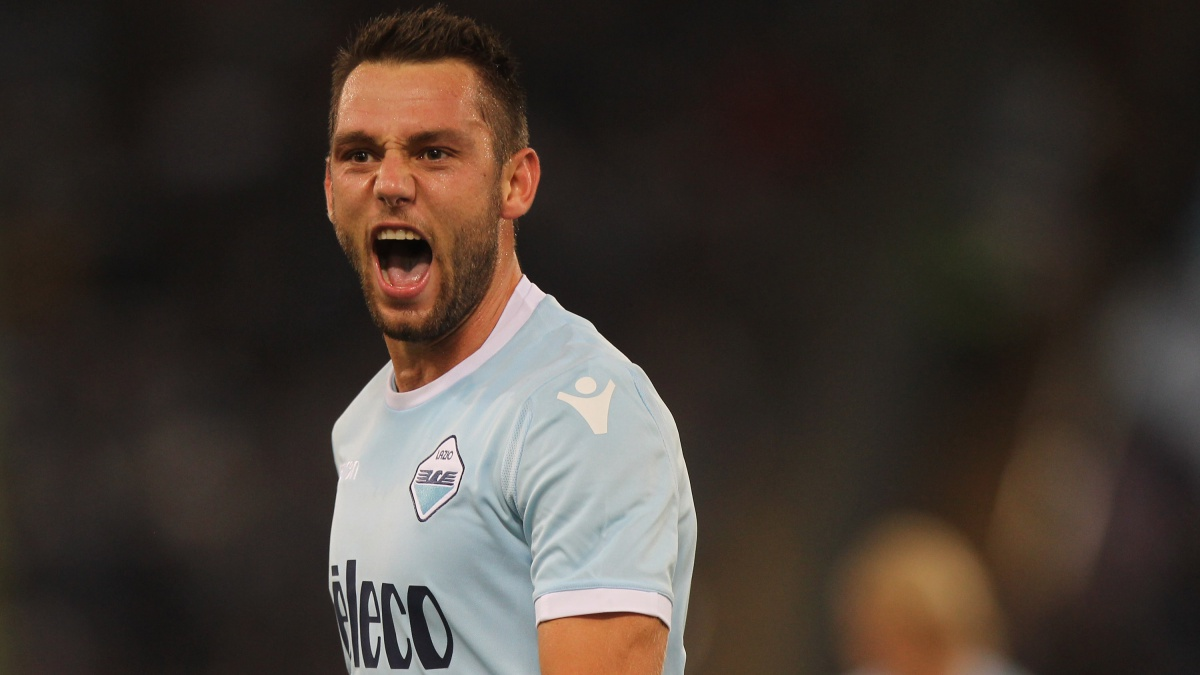 Stefan de Vrij, futbolista de la Lazio (Getty)
