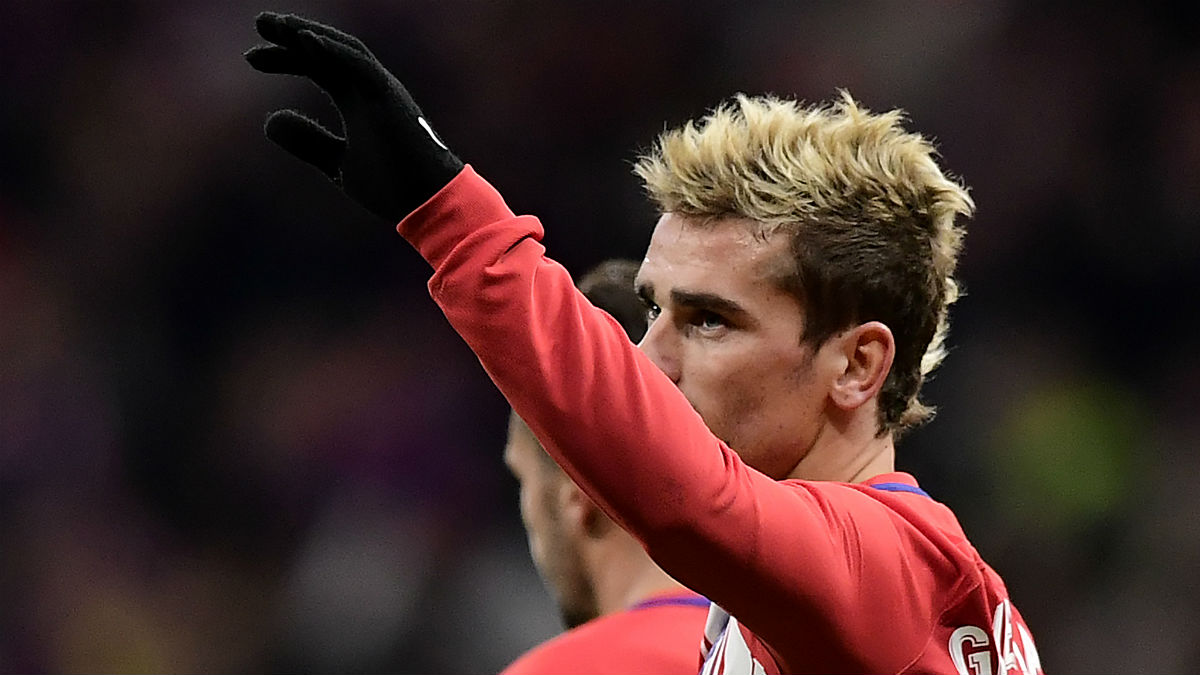 Griezmann anotó el gol de la victoria. (AFP)