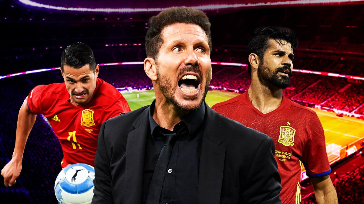 ¿Cómo va a encajar Simeone a Diego Costa y Vitolo?