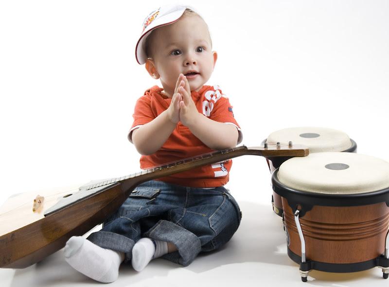 9 beneficios de la Musicoterapia para bebés